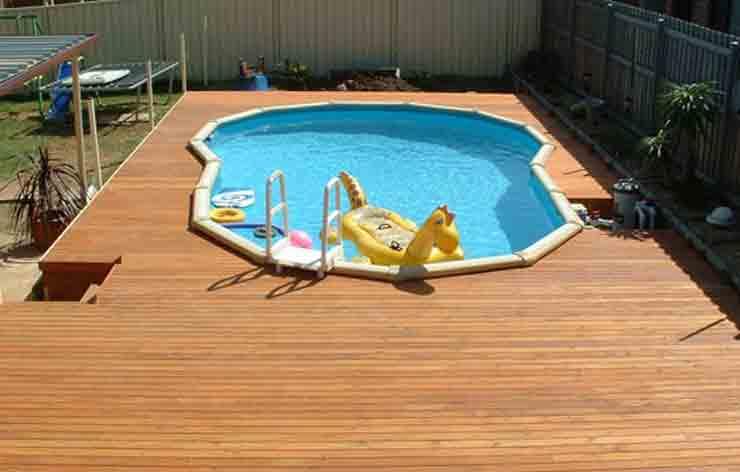 Timber deck design Penrith