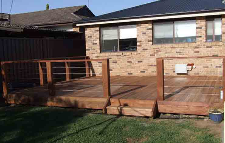Timber Deck Installation Western Suburbs Sydney