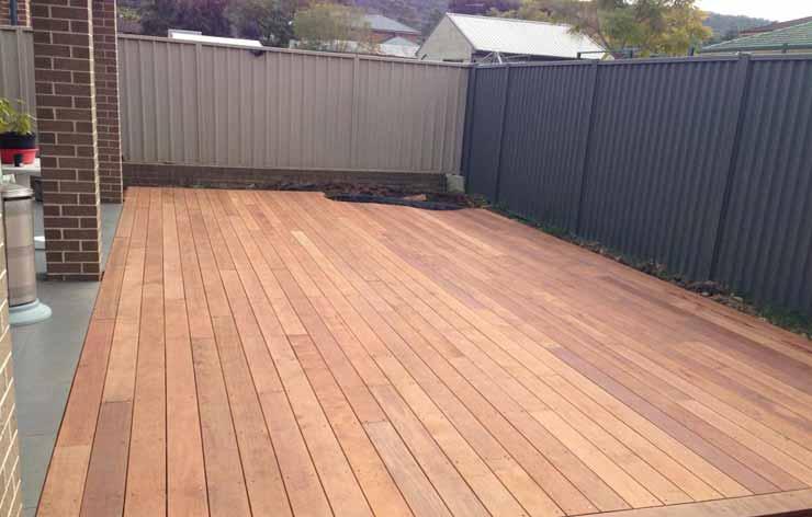 Timber Deck Installation Blacktown
